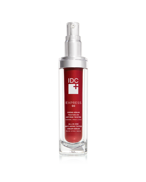 SPF 15 All-in-one Anti-aging Tinted Cream-Serum EXPRESS CC