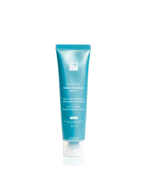 Daily Calming Moisturizing Emulsion HYDRA NUANCE NATURELLE FPS 30